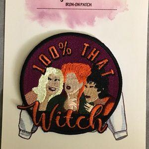 Disney hocus pocus iron on patch